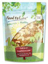 Mixed Raw Nuts, 2 Pounds - Cashews, Brazil Nuts, Walnuts, Almonds, Unsalted, Bulk