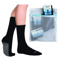 Skyba Non Slip Anti Skid Slipper Socks Cozy Hospital Socks with Grips for Women Men Ladies Adult