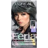 L'Oreal Paris Feria Multi-Faceted Shimmering Permanent Hair Color, 617 Vintage Teal, Pack of 1, Hair Dye
