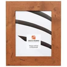 Craig Frames Bauhaus 200, Modern Rustic Light Walnut Picture Frame, 11 by 17-Inch
