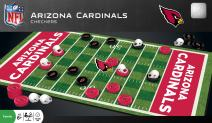MasterPieces NFL Arizona Cardinals Checkers Board Game Set, For 2 Players, Ages 6+