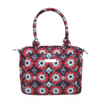 JuJuBe Be Classy Structured Multi-Functional Diaper Bag/Purse, Classic Collection - Sweet Scarlet
