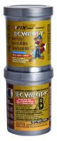 PC Products PC-Woody Wood Repair Epoxy Paste, Two-Part 12 oz in Two Cans, Tan 16333