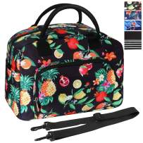 ORASANT Lunch Bag, Large& Durable Insulated Water-resistant Cooler& Thermal Lunch Bag for Women, Fashionable Lunch Box with Detachable Shoulder Strap for Work, School, Beach, Picnic, Fruits