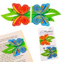 Line Markers Novelty Fun Magnetic Bookmark Page Holder Book Lover Reading Gift - Butterfly