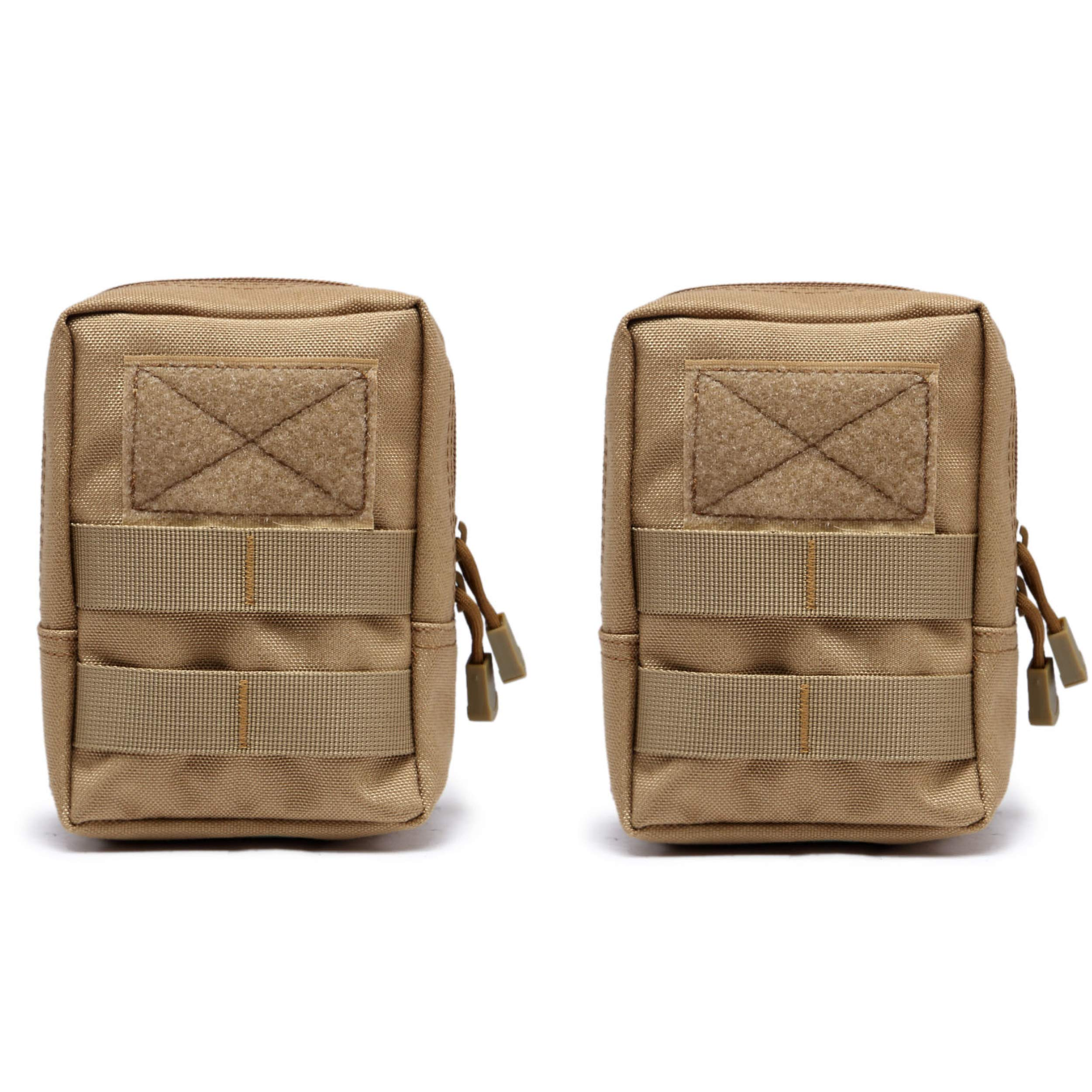 TRIWONDER Tactical Molle Bag Outdoor Accessory Bag Utility EDC Pouch for Backpack Vest Military Airsoft Shooting Storage Bag