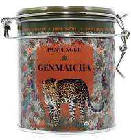 Pantenger Genmaicha Green Tea With Roasted Brown Rice. Finest Japanese Genmaicha Loose Leaf Tea 3.5 Oz. USDA Organic. High Levels of Antioxidants and Amino Acids