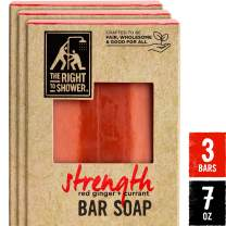 The Right To Shower Bar Soap, Strength, 7 oz, Pack of 3