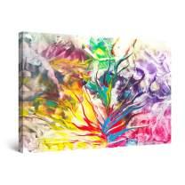 "Startonight Canvas Wall Art Abstract, Framed Wall Decor 32"" x 48"""
