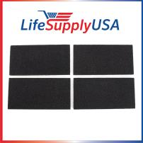 LifeSupplyUSA Pack of 4 Replacement Carbon Filters Compatible with Holmes HAPF30 HAPF-30D