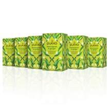 Pukka Herbs Lemongrass & Ginger, Organic Herbal Tea (6 Pack, 120 Tea Bags)