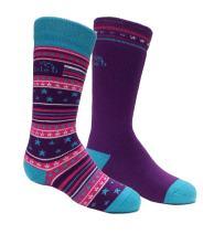 Bridgedale Kid's Merino Ski Socks - 2 Pack