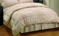 J&M Home Fashions J&M All Season Microfiber Printed Comforter - Ultra Soft, Comfy, Plush to Keep You Warm & Cozy, Full Size 76 x 86, Ethereal Trees