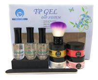 Nail dipping powder kit. 1 oz. per jar dip powder, Essential kit.