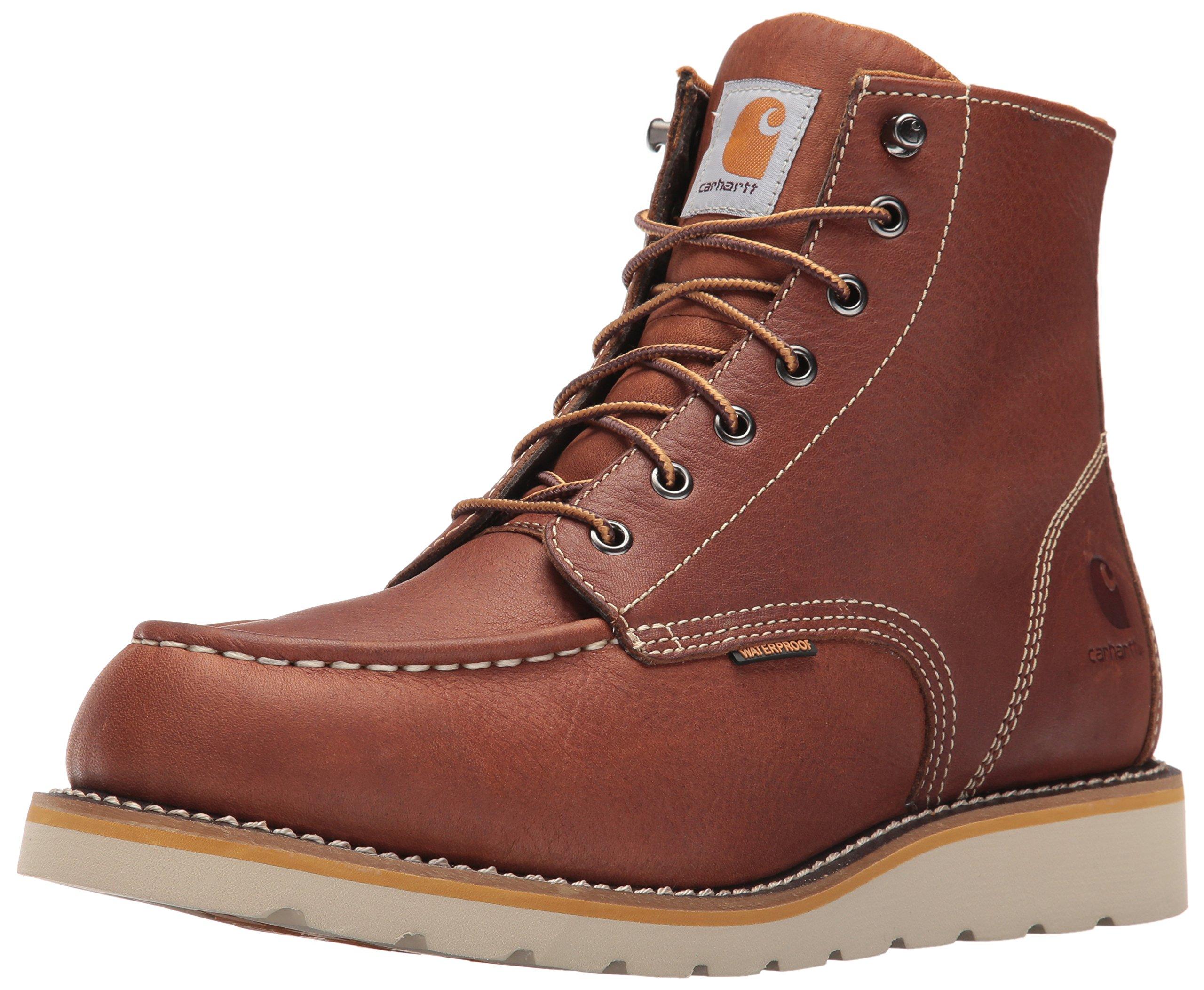 Carhartt Men's 6-Inch Waterproof Wedge Soft Toe Work Boot