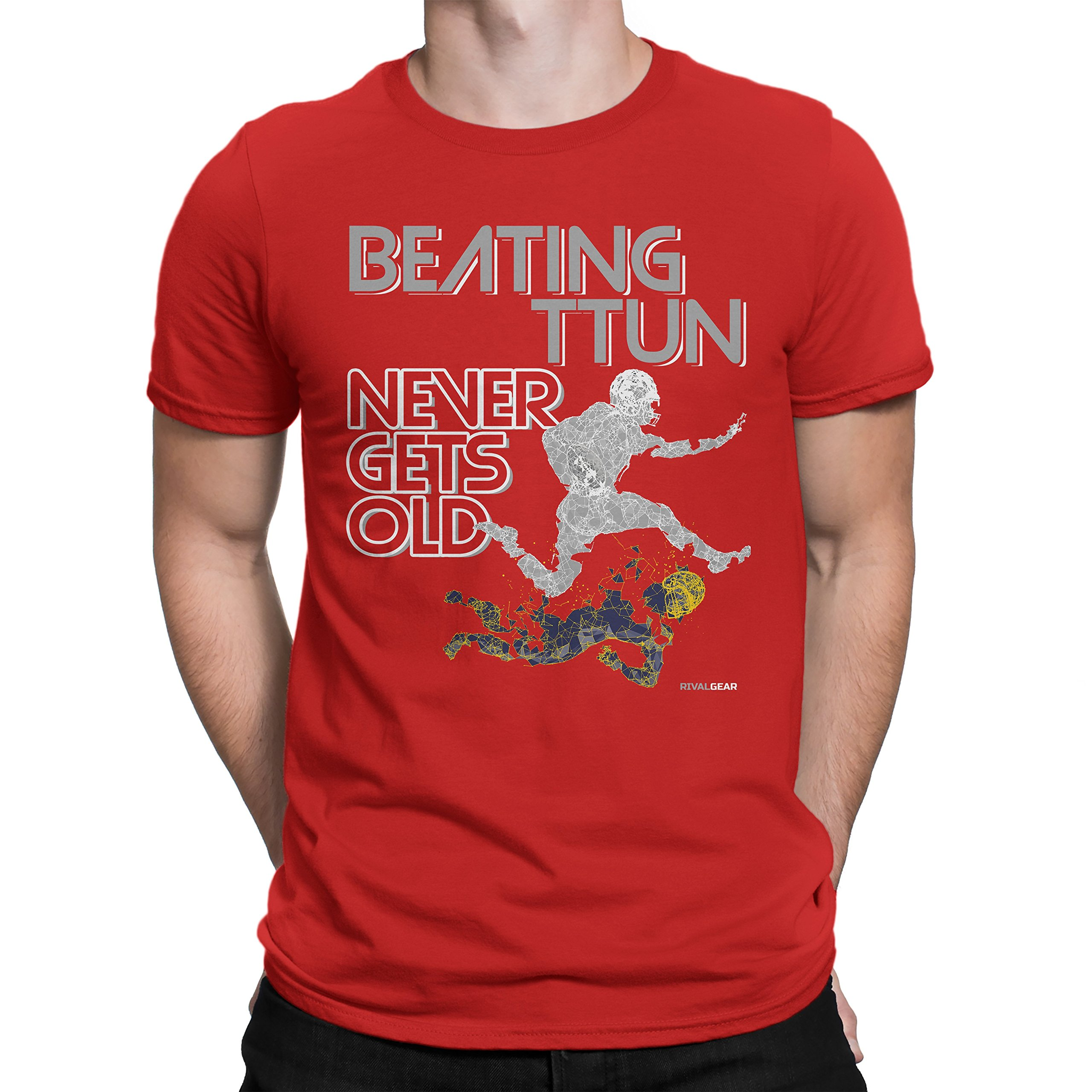 Michigan Haters Beating TTUN Never Gets Old T-Shirt for Fans in Ohio
