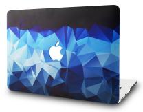 "KECC Laptop Case for MacBook Air 13"" Plastic Case Hard Shell Cover A1466/A1369 (Blue Diamond)"