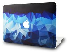 "KECC Laptop Case for Old MacBook Pro 13"" Retina (-2015) Plastic Case Hard Shell Cover A1502 / A1425 (Blue Diamond)"
