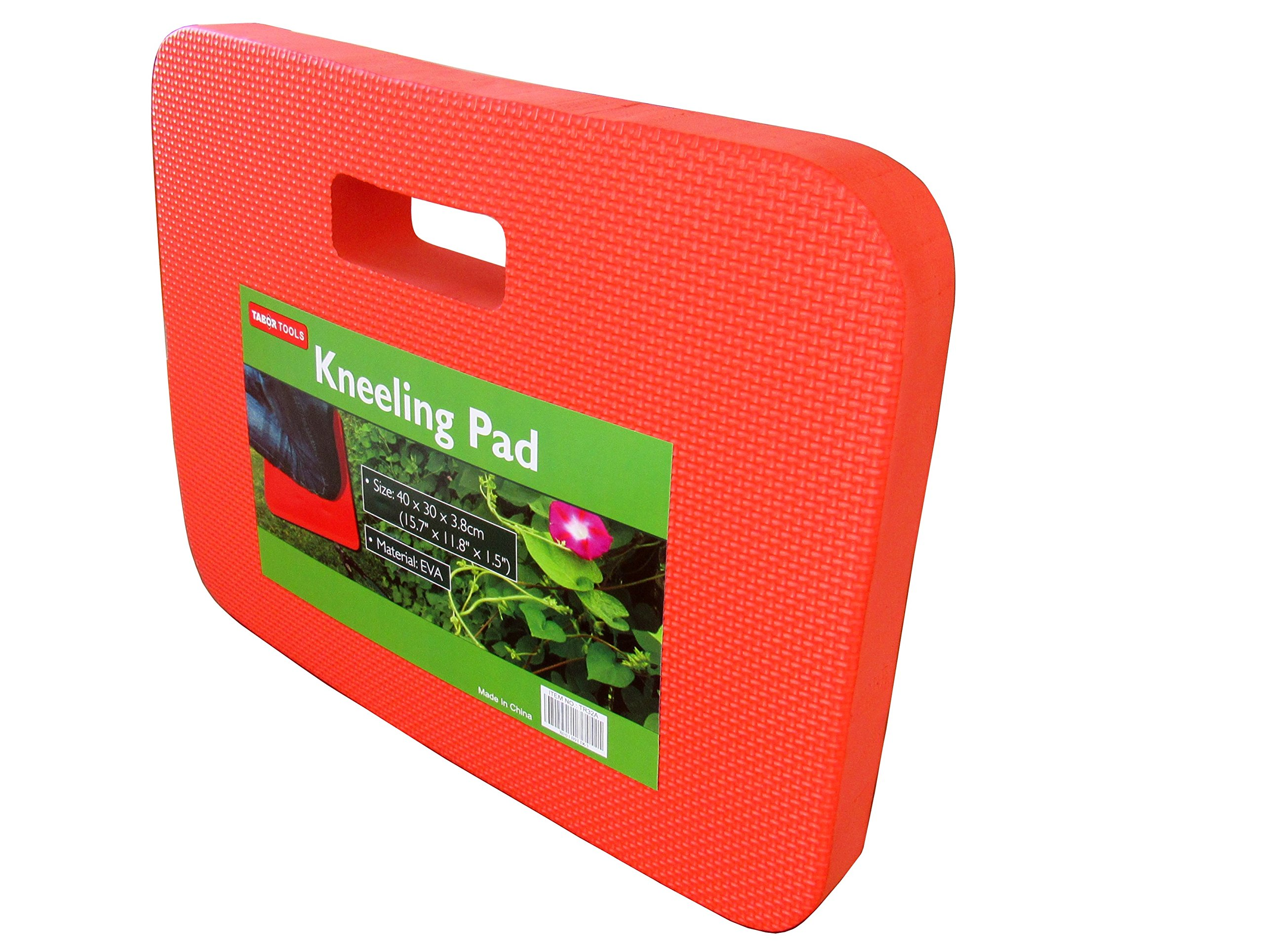TABOR TOOLS TR32A Kneeling Pad, Thick Comfortable Protective Kneeler, Cushion for Gardening, Baby Bathing, Car Repair, House Chores, and Exercise. Waterproof Foam Pad for Sitting and Kneeling.