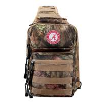 """Officially Licensed NCAA """"Flyover"""" Tactical Slingpack, 12"""", Mossy Oak"""