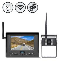 Rear View Safety Wireless Backup Camera System for RV, Truck, Bus (with Furrion Prewire Bracket) RVS-155W
