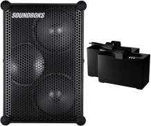 The New SOUNDBOKS - The Loudest Portable Bluetooth Performance Speaker (126 dB, Wireless, Bluetooth 5.0, Swappable Battery, 40Hr Average Playtime) (2BB)