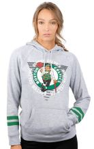 Ultra Game NBA Soft Fleece Pullover Hoodie Sweatshirt With Varsity Stripe