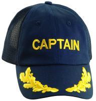 Dorfman Pacific Co. Men's Mesh Back Captain Cap