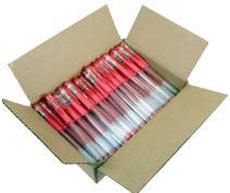 Sargent Art 100 Red Glitter Gel Pen Bulk Pack, Drawing