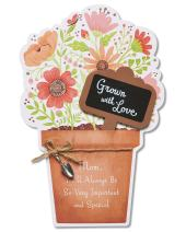 American Greetings Grown With Love Mother's Day Card With Glitter