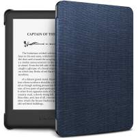 INFILAND Kindle 10th Gen 2019 Case, Shell Case Cover Auto Wake/Sleep Compatible with All-New Kindle 10th Generation 2019 Release Only, Navy
