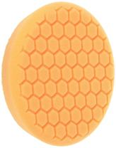 Chemical Guys BUFX_102_HEX Self-Centered Hex-Logic Medium-Heavy Cut Scratch and Swirl Remover, Orange (7.5 Inch Fits 7 Inch Backing Plate)