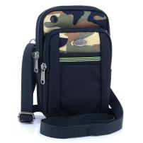 """U-TIMES Water Resistant Oxford Waist Pouch 6.5"""" Crossbody Shoulder Cell Phone Bag(Camouflage)"""