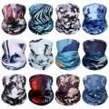 Neck Gaiter Bandana Headwear Face Mask Scarf Neck Tube Magic Headband Sports Dust Protection Fan Masks Breathable