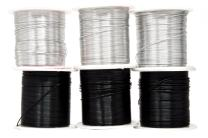 Mandala Crafts Anodized Aluminum Wire for Sculpting, Armature, Jewelry Making, Gem Metal Wrap, Garden, Colored and Soft, Assorted 6 Rolls (22 Gauge, Combo 11)