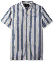 Quiksilver Men's Mad Wax Printed Shirt Woven