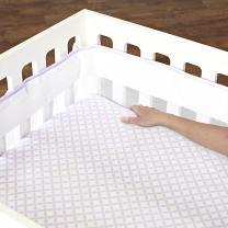 Just Born Fresh Air Crib Liner, Lilac
