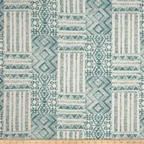 Swavelle/Mill Creek Izett Fabric, Island Blue