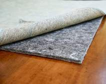 """RUGPADUSA - Dual Surface - 3'x18' - 1/4"""" Thick - Felt + Rubber - Non-Slip Backing Rug Pad - Adds Comfort and Protection - Safe for All Floors and Finishes"""