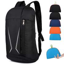 Lightweight Packable Backpack Small Handy Travel Hiking Daypack (Blue)