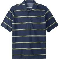 KingSize Men's Big & Tall Lightweight Pocket Golf Polo Shirt