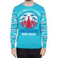 Step Brothers Catalina Wine Mixer Ugly Christmas Sweater