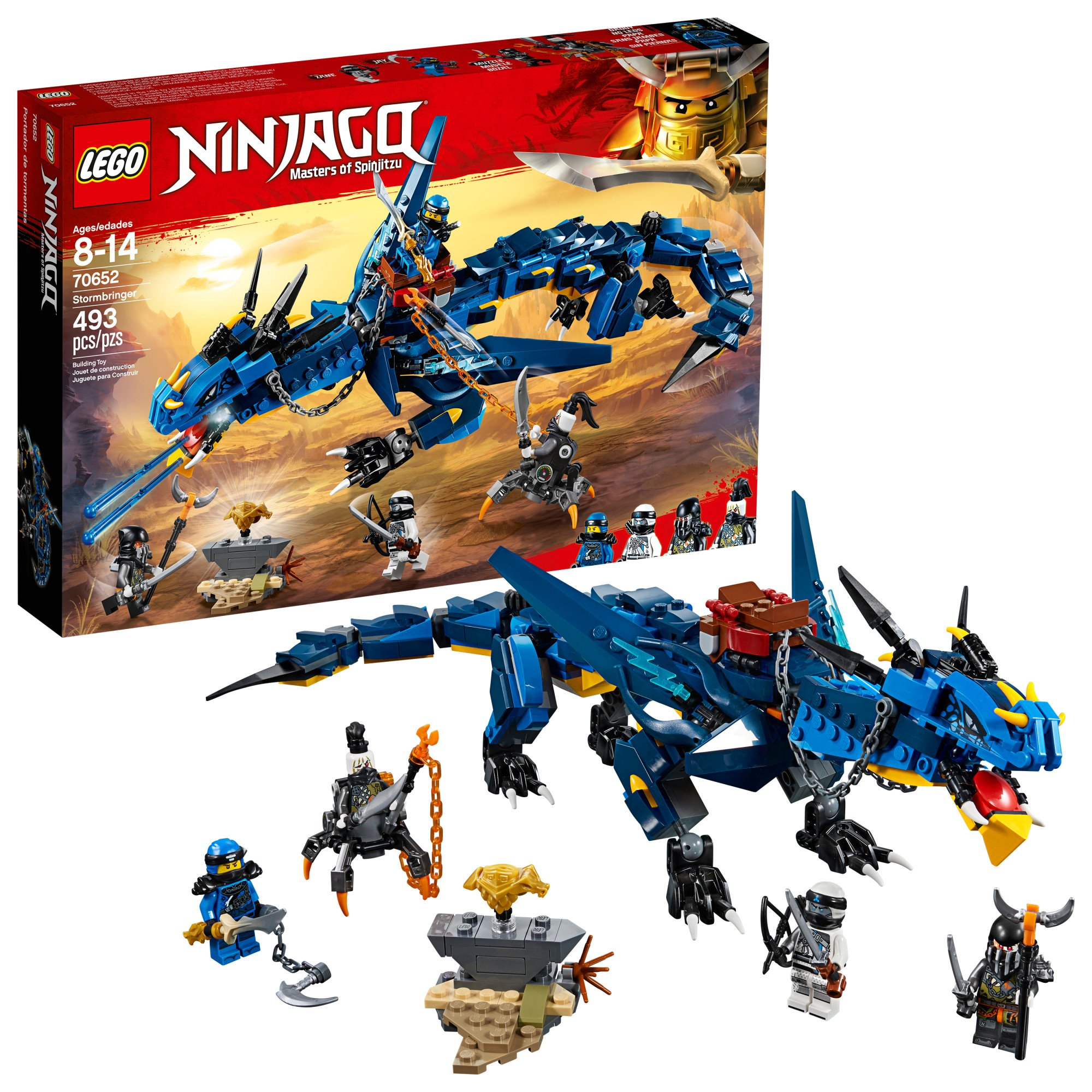 Lego Ninjago Masters Of Spinjitzu Stormbringer 70652 Ninja Toy Building Kit With Blue Dragon Model For Kids Best Playset Gift For Boys 493 Pieces I make in sunset light effect and create dual sword as her weapon. lego ninjago masters of spinjitzu stormbringer 70652 ninja toy building kit with blue dragon model for kids best playset gift for boys 493 pieces