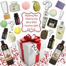 Rachelle Parker Bath & Body Surprise Gift Box! Loaded with Natural Gifts for Women! Best Value Spa Gifts for Women! Bath Bombs Bubble Bath Natural Soap & Essential Oils! Min Value $85