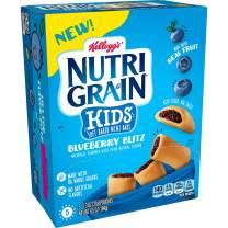 Nutri-Grain Blueberry Bites, Soft Baked Mini Breakfast Bars, 6.5 Oz(Pack of 5, 25 count)