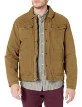 Bass GH Men's Laydown Collar Two Pocket Depot Jacket with Woodsman Plaid Lining