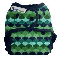 Best Bottom Cloth Diaper Shell-Snap, Loch Ness
