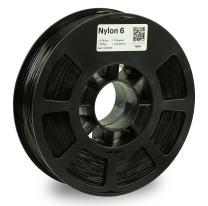 KODAK NYLON 6 3D printer filament BLACK color, +/- 0.03 mm, 750g (1.6lbs) Spool, 1.75 mm. Lowest moisture premium filament in Vacuum Sealed Aluminum Ziploc bag. Fit Most FDM Printers