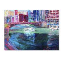 Chicago 2 by Richard Wallich, 35x47-Inch Canvas Wall Art