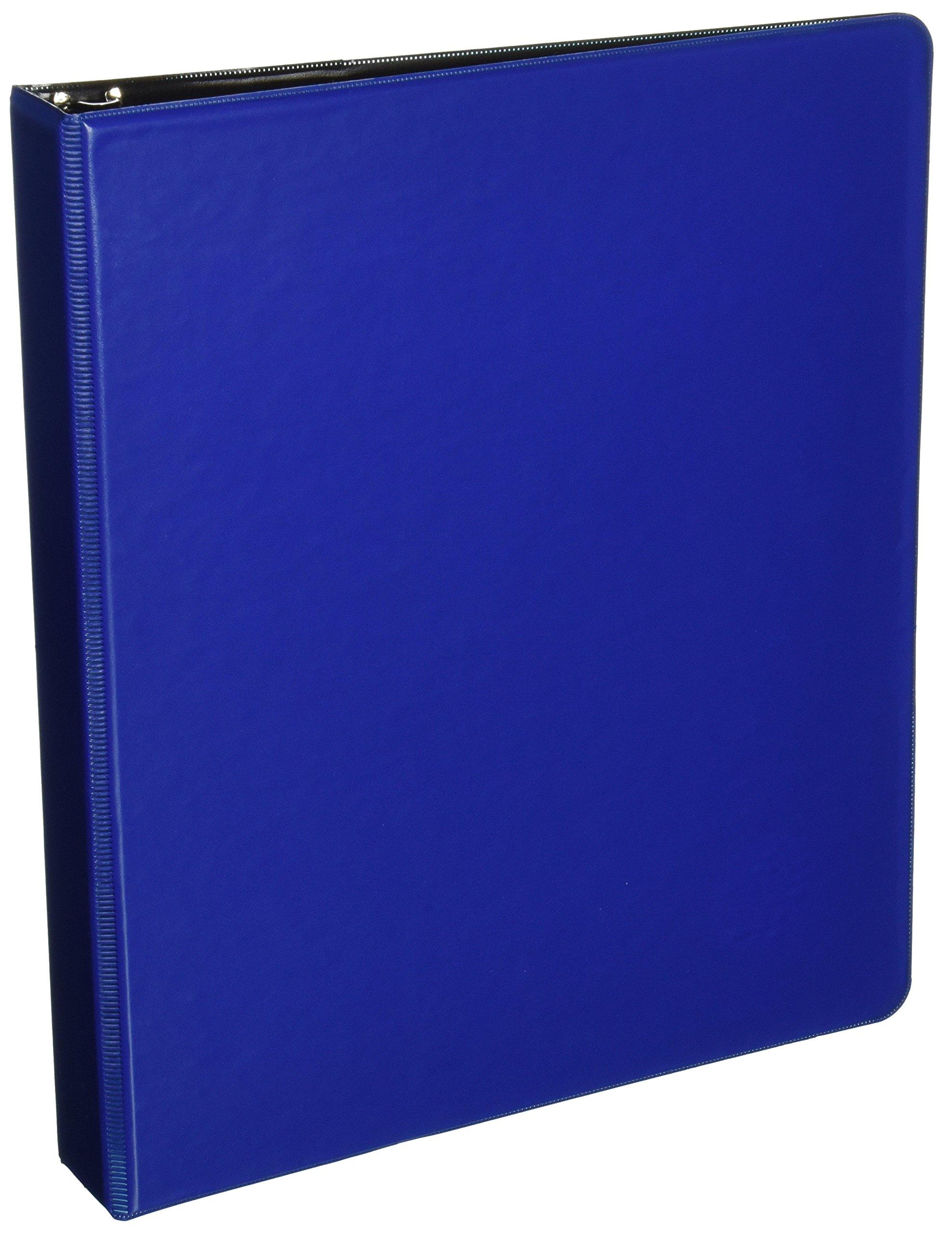 Wilson Jones 3 Ring Binder, 1 Inch Round Ring, 4 Pack, Blue (W70368-14NBLPP)